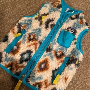 Patagonia Sherpa Vest 6-12 Months